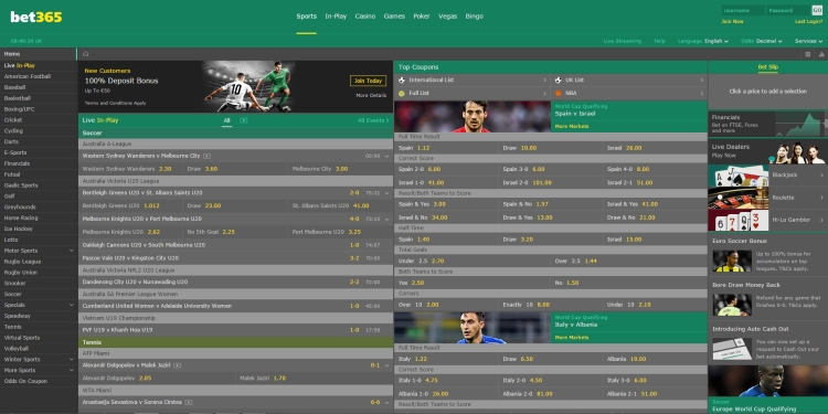 Bet 365 bookmaker review