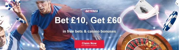 betfred review welcome bonus