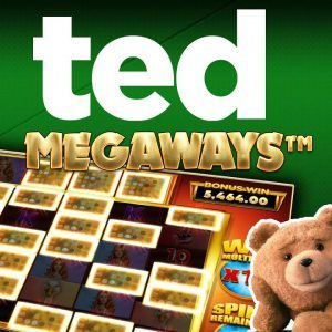 ted megaways slot review logo