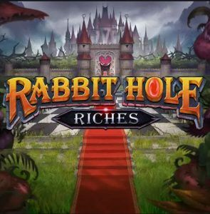 rabbit-hole-riches-slot-logo