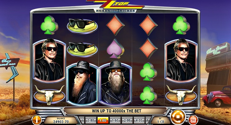ZZ top roadside riches play n go gokkast review slot
