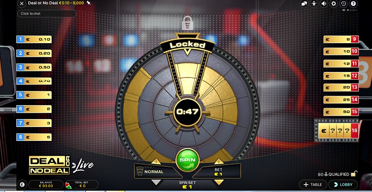 Deal or No Deal Live Evolution gaming review