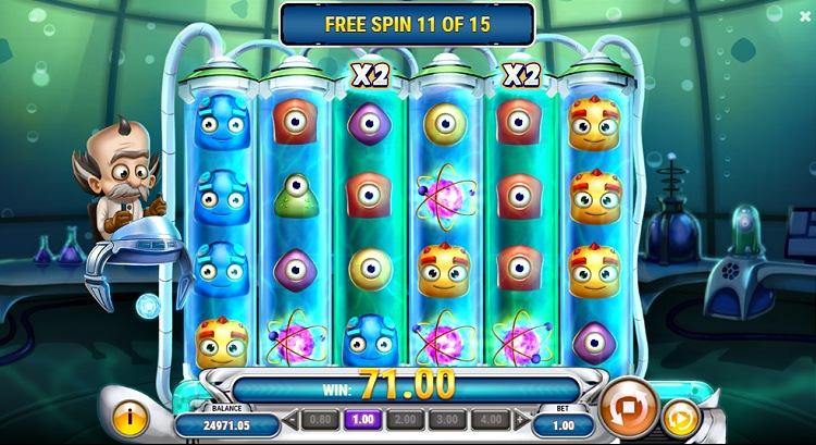 dr toonz Play n Go online slot review