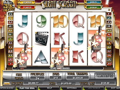 The Interface of Silent Screen Slot