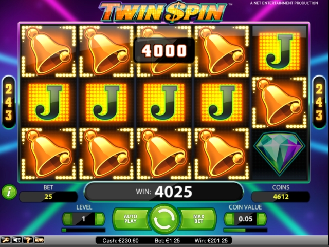 twin spin slot review netent