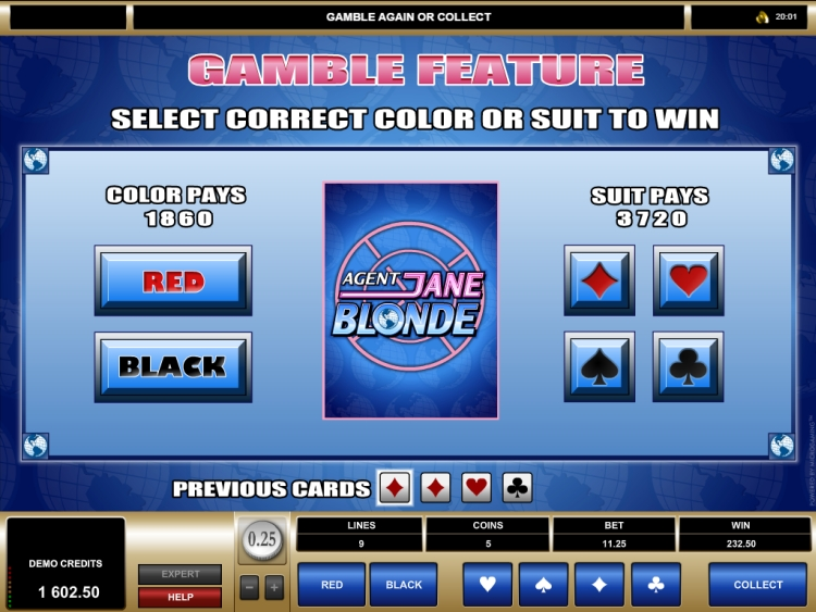 Agent Jane Blonde slot review