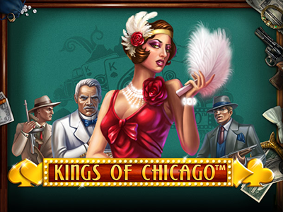 Kings of Chicago Slot Machine by NetEnt