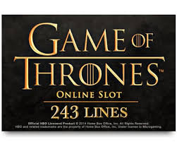 game of thrones 243 slot review logo